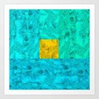 Universe Geometric Art Print