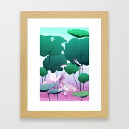 River of Gods Framed Art Print