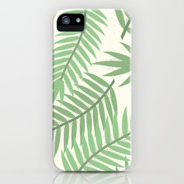 Vintage Florida Palm Fronds 2 iPhone Case