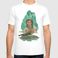 Seal Girl Mens Fitted Tee White MEDIUM