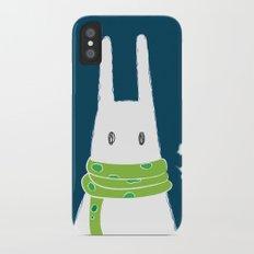 Nice scarf iPhone X Slim Case