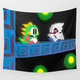 Inside Bubble Bobble Wall Tapestry