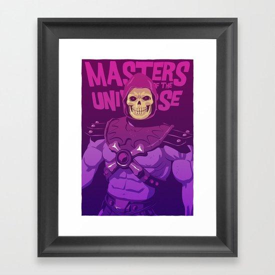 Masters of the Universe - Skeletor Framed Art Print