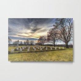 World War 2 War Graves Budapest Metal Print