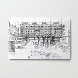 Barbican London 3 Metal Print