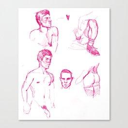 FAG DOODLE 01 Canvas Print