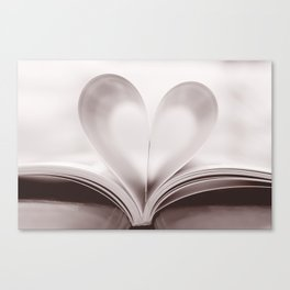 pages of love Canvas Print