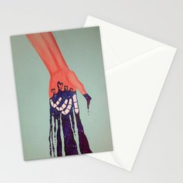 Hand&Galaxy1 Stationery Cards
