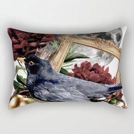 The Bird King Rectangular Pillow