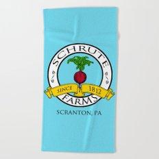Schrute Farms | The Office - Dwight Schrute Beach Towel