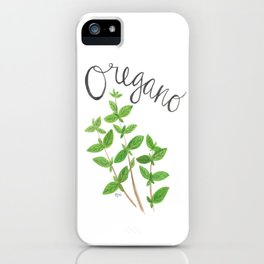 Oregano Garden Art iPhone Case