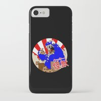 kaiju iPhone & iPod Cases featuring Kookie Kaiju by Joel Jackson