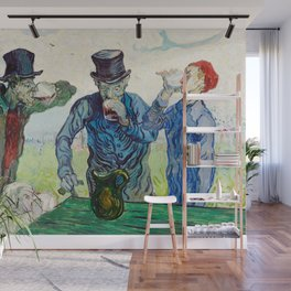 Vincent Van Gogh - The Drinkers Wall Mural