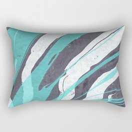 Watercolor abstract painting Rectangular Pillow
