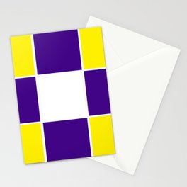 Team Colors 3...purple ,yellow Stationery Cards