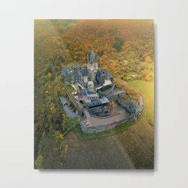 Cochem Castle, Germany Metal Print