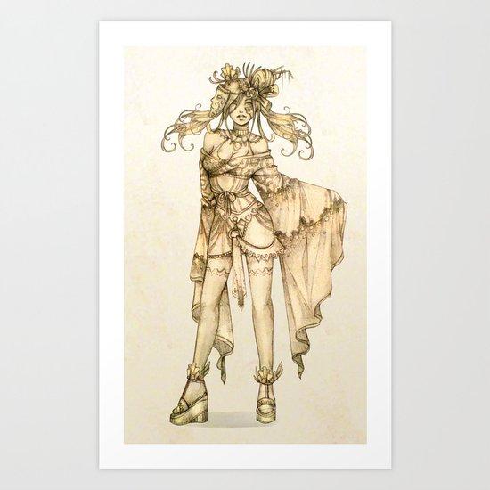 Sepia Art Print
