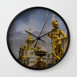 Peterhof palace Wall Clock
