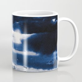 arctic blue landscape Coffee Mug