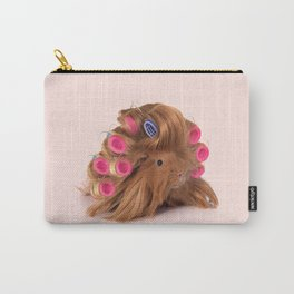 CURLY GUINEA PIG Carry-All Pouch