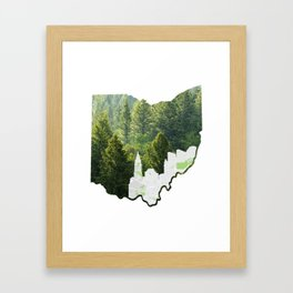 Natural Ohio Framed Art Print