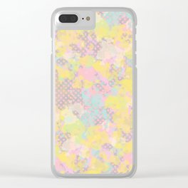 Everywhere #society6 #abstractart Clear iPhone Case