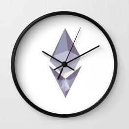 ETH GEM Wall Clock