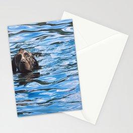 Cedar Swimming Stationery Cards