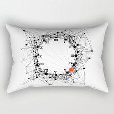 the Clock Rectangular Pillow