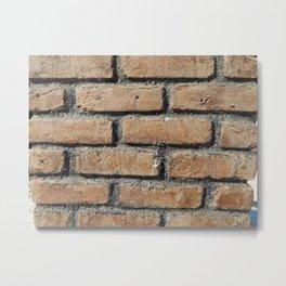 Texture natural stone masonry and paving Metal Print