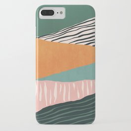 Modern irregular Stripes 02 iPhone Case