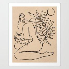Summer lines V||| Art Print