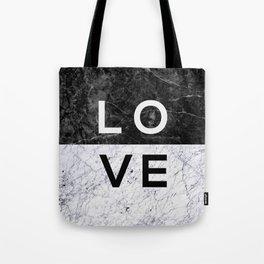 Love B&W Tote Bag