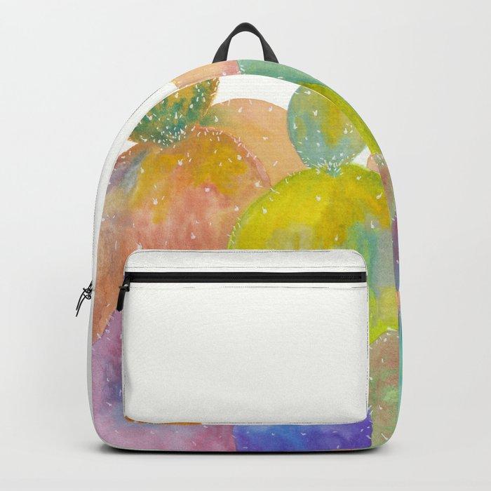 Rainbow Cactus Backpack