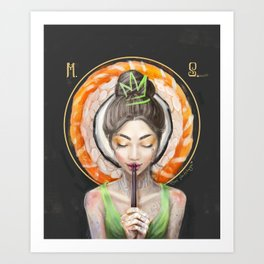 Rice to meet You Art Print