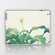 Peace Lily Laptop & iPad Skin