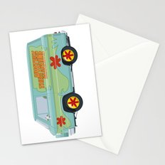 Mystery Machine - Scooby-Do!  II/III Stationery Cards