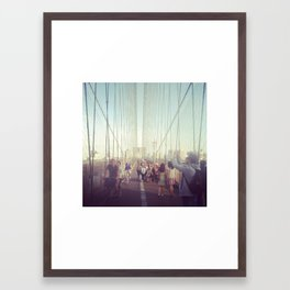 Brooklyn 1 Framed Art Print