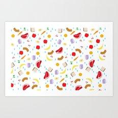 Hungry Art Print