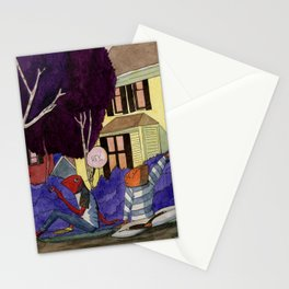 Dead End Frog Kids Stationery Cards