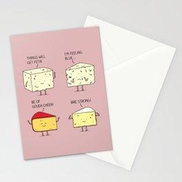 cheesy puns Stationery Cards