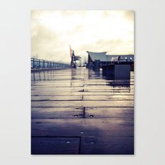 Olympia waterfront  Canvas Print