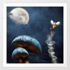 Tales of the Night Art Print