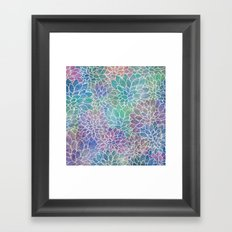Floral Abstract 9 Framed Art Print
