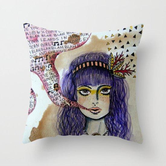 speakeasy Throw Pillow