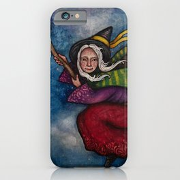 Holiday La Befana the Christmas Witch iPhone Case