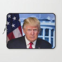 Portrait of President Donald J. Trump Laptop Sleeve