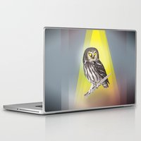 noir Laptop & iPad Skins featuring Noir by Beto Shibata