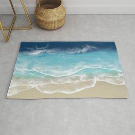 Venice Beach - 3D Resin Beach art Rug