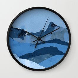 Mountain X Wall Clock